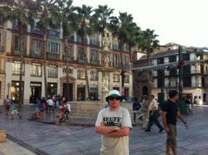 Me in Malaga