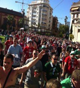 Marsch durch Sevilla