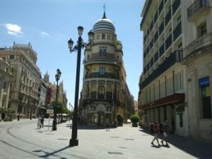 Spaziergang durch Sevilla