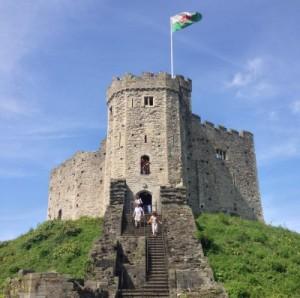 Der Normannische Keep auf der Motte