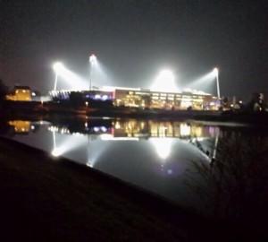 Stade Marcel Picot @night