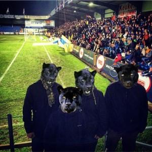 Die Black Panther Hopping Crew