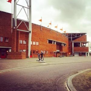 Das Amsterdamer Olympiastadion