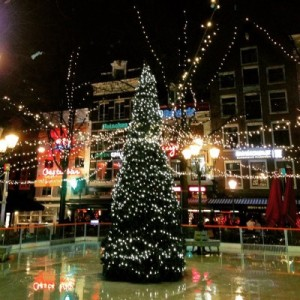 It's Christmas Time in Amsterdam