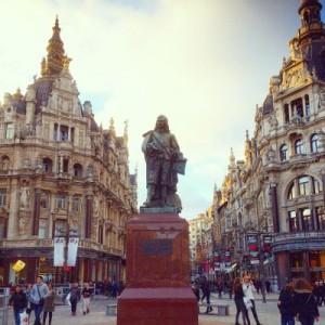 Stadtzentrum von Antwerpen