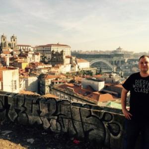 Ausblick vom Miradouro da Vitoria