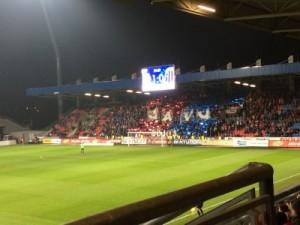 Choreo der Pilsner Ultras