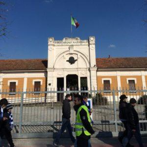 Stadioneingang Pavia
