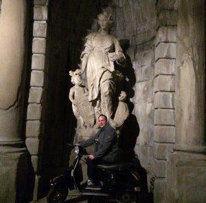 Nachts unterwegs in Bergamo