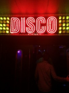 Entering the Disco