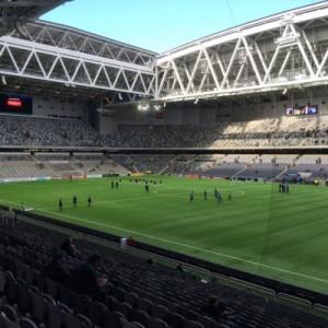 Die neue Arena von DIF und HIF