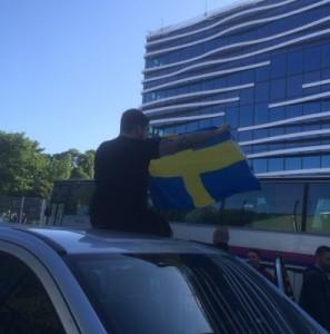 Tag der schwedischen Flagge