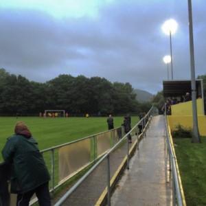 Der Ground des Taff's Well F.C.