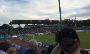 Das Preußenstadion an der Hammer Straße