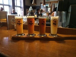Jetzt gibt's hier 'ne Bierverkostung