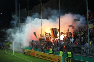 Hannioer 96 Fans in Elversberg