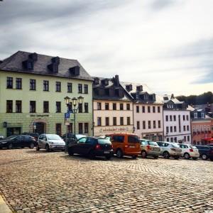 Marktplatz in Auerbach