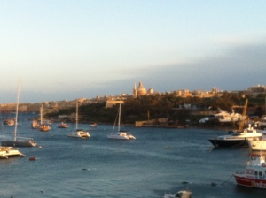 Bucht von La Valletta