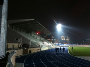 Leichte Athletik im Österbro-Stadion