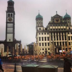Rathaus und Perlachturm