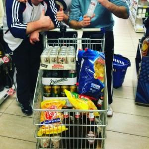 Lebensmittelkauf in Bergamo