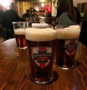 Bier von Bombardier