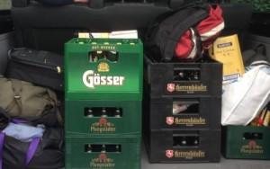 Ich packe meinen Kofferraum...