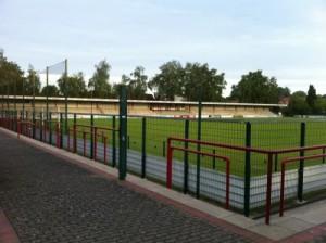 Stadion an der Poststraße in Verl
