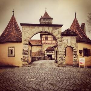 Stadttor Rothenburg