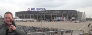 Augsburgs Arena von außen