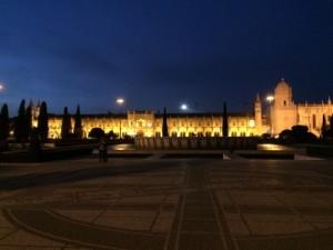 Mosteiro dos Jerónimos zur Blauen Stunde