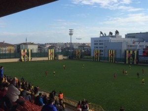Stadion und Panorama