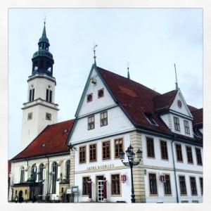 Altes Rathaus und Stadtkirche