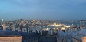 Istanbul Abendpanorama