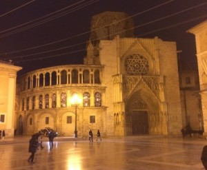 Kathedrale @night