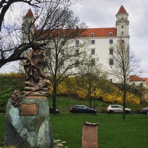 Die Burg von Bratislava