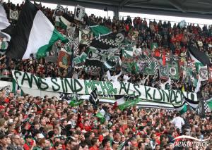Protest gegen Bayern München