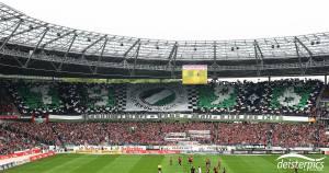 Choreo gegen den Hamburger SV