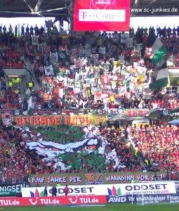 Heimauftakt gegen den SC Freiburg
