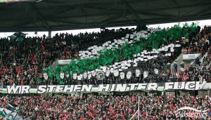 Choreo gegen Nürnberg