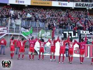 Auswärtssieg in Bremen
