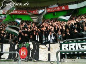 96-Fans in Gladbach