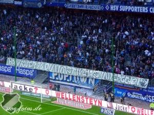 Große Geste der HSV-Fans