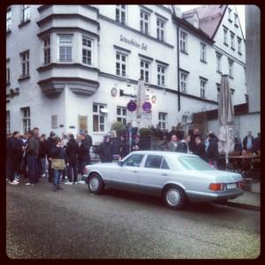 96-Fans in Augsburg