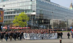 Demo durch Hannover