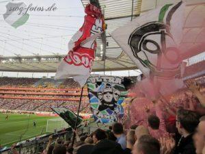 Zu Gast im Frankfurter Waldstadion