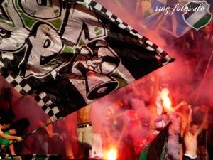 Freudenfeuer gegen Werder