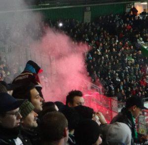 Auch ohne Ultras Pyro in Bremen