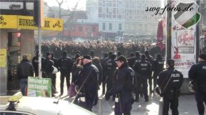 96-Mob auf dem Kiez