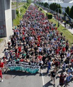 Der Mob in Stuttgart